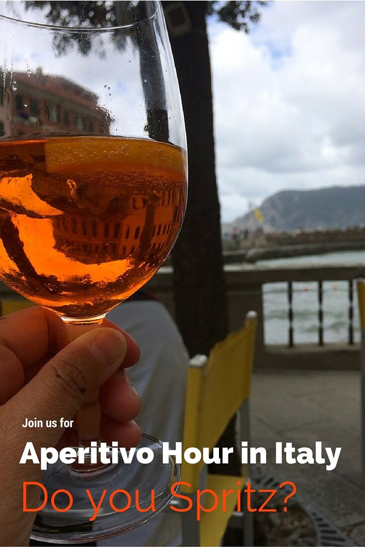 Aperitivo Hour in Italy via @DIshOurTown