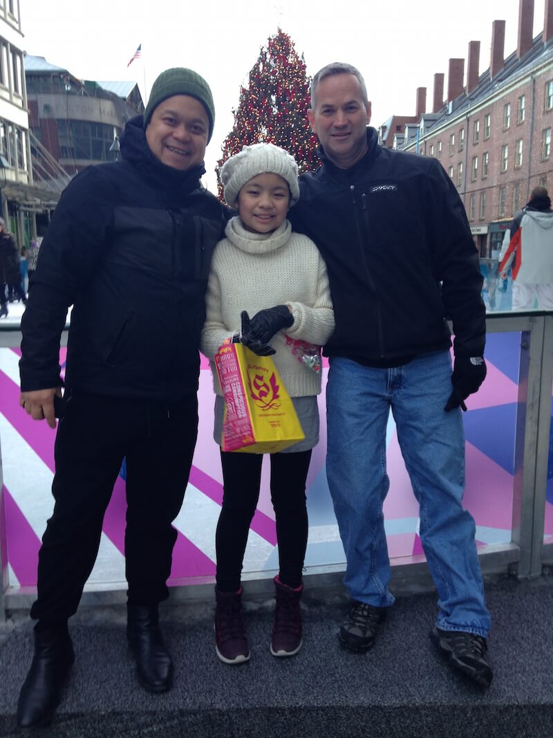 Christmas at the South Street Seaport with Kevin