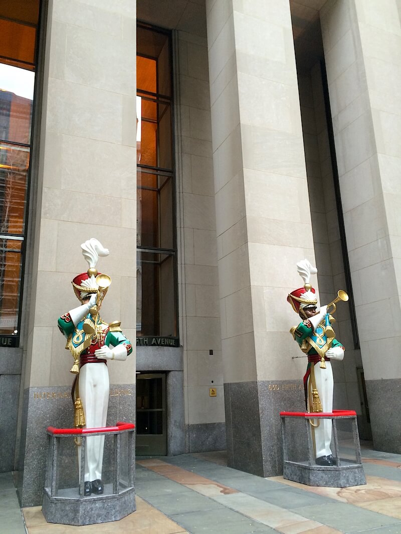 Toy Soldiers in Midtown NYC