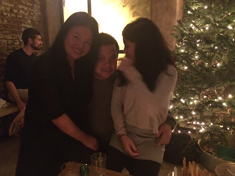 The girls and I at Peasant NYC - our second home
