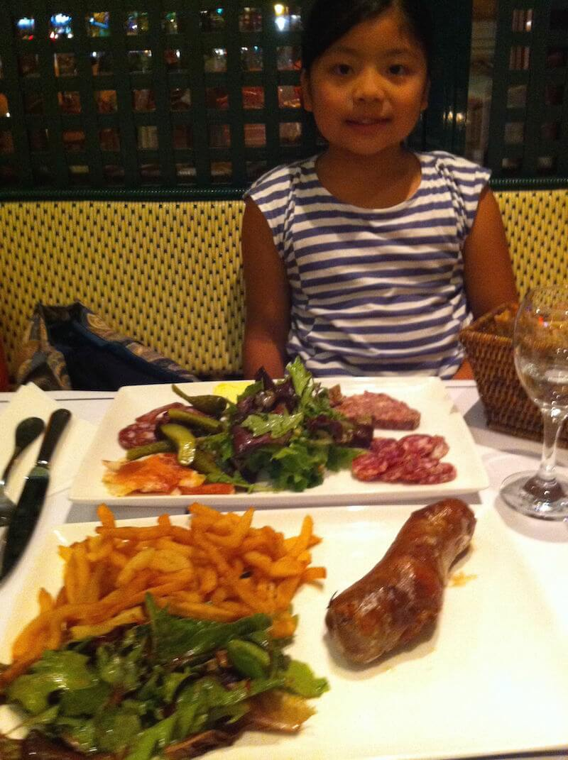 Andouillette and Fries