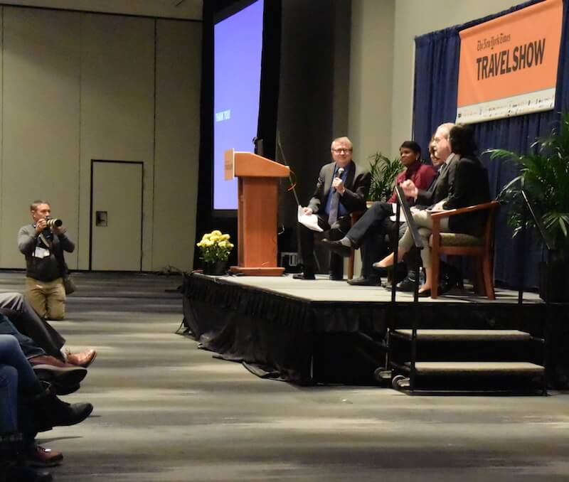 Keynote Panel at the NYT Travel Show 2015