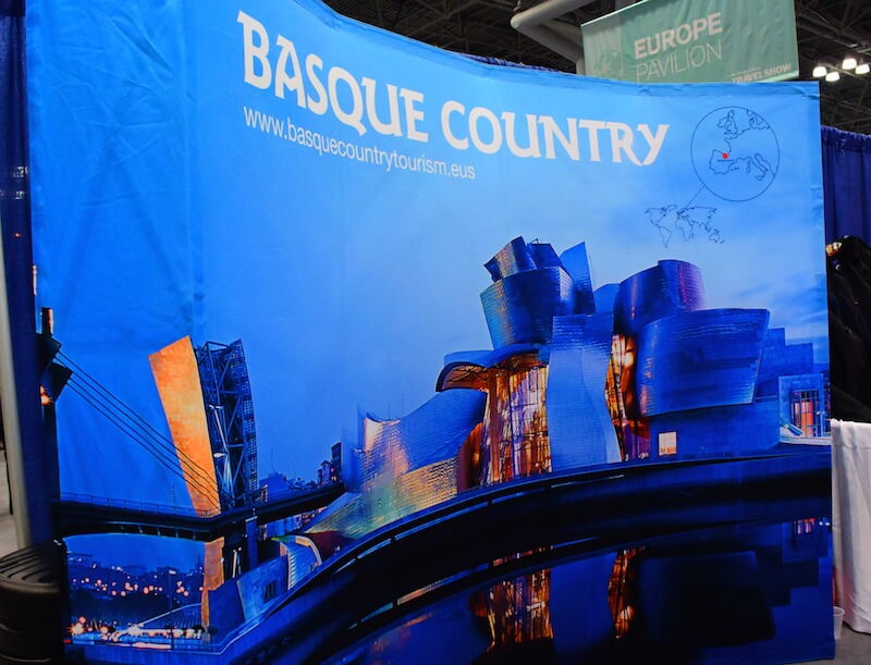 Basque Tourism at NYT Travel Show