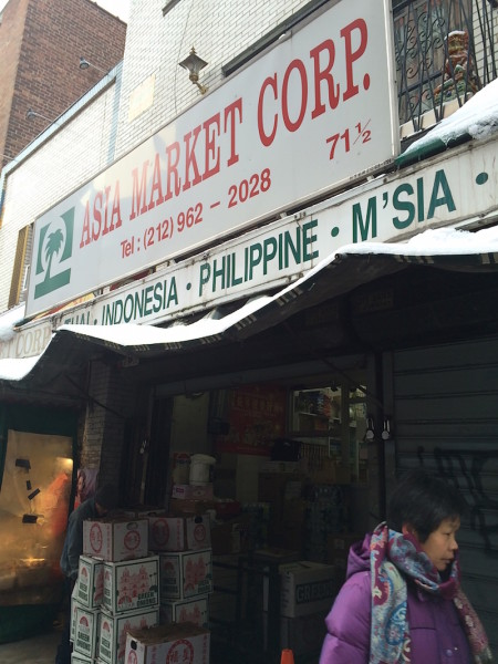 Asia Market on Mulberry.