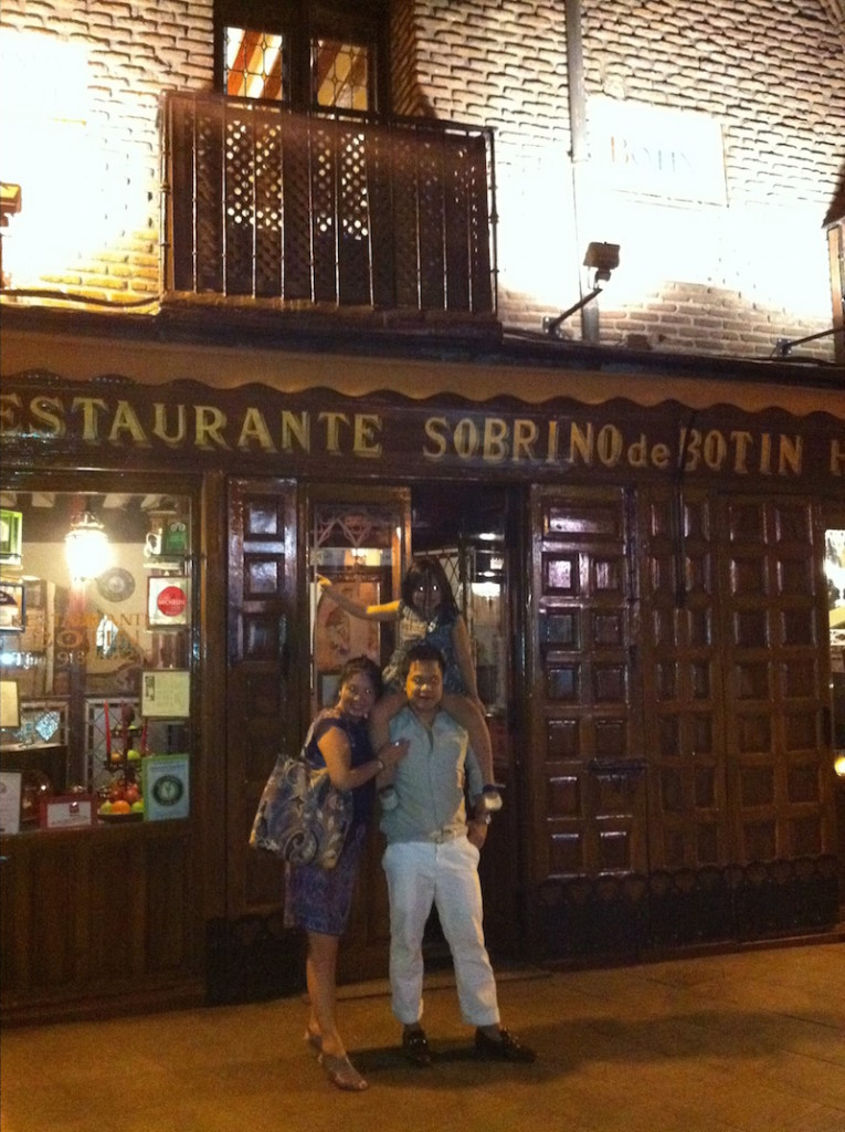 Restaurante Sobrino de Botin in Madrid via @DishOurTown