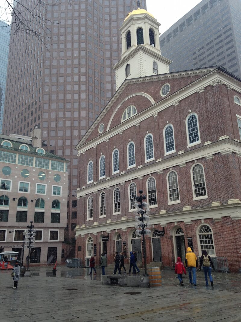 Fanueil Hall in Boston | Weekend in Boston | Dish Our Town