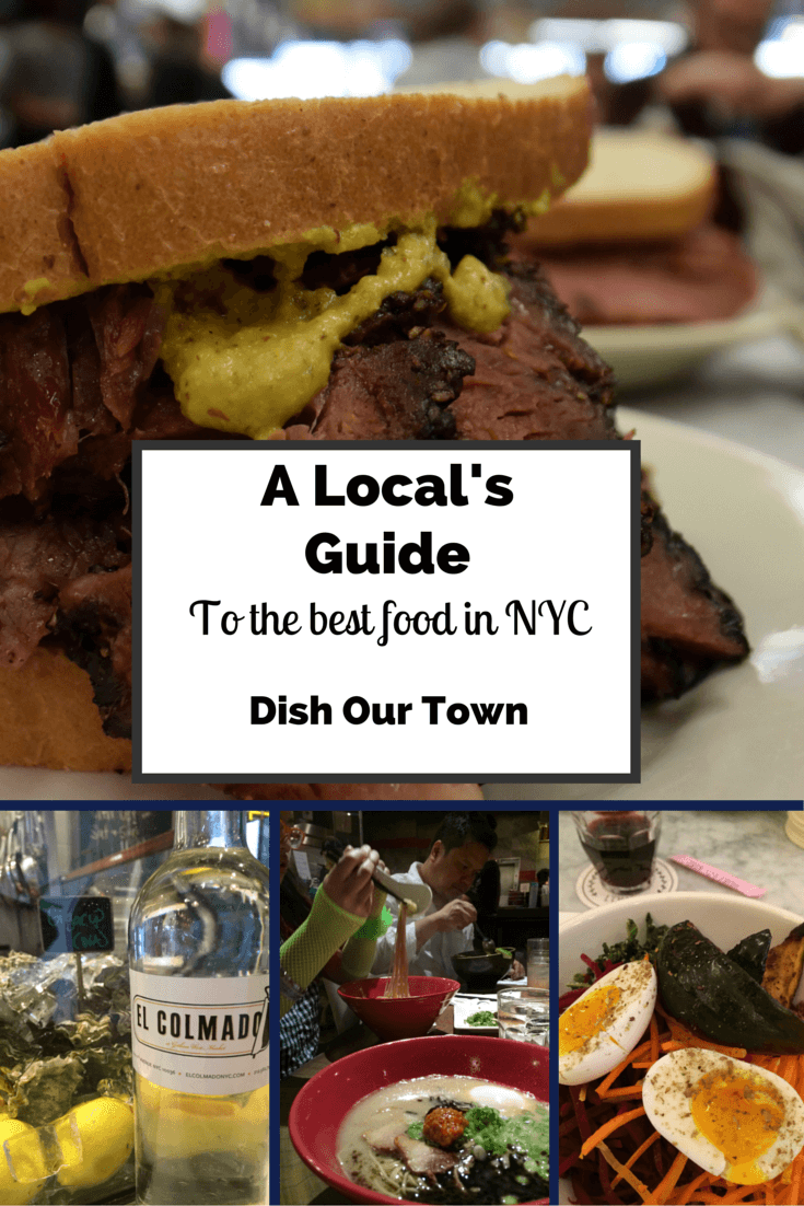 A Local's Guide to the best food in NYC via @DishOurTown #localfood #seeyourcity #food