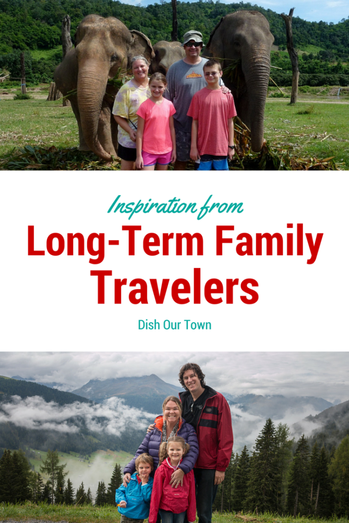 Part 2 Long term traveling families | Dish Our Town