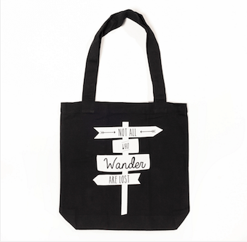Wandering Tote $40 at Great.ly Free International Shipping.
