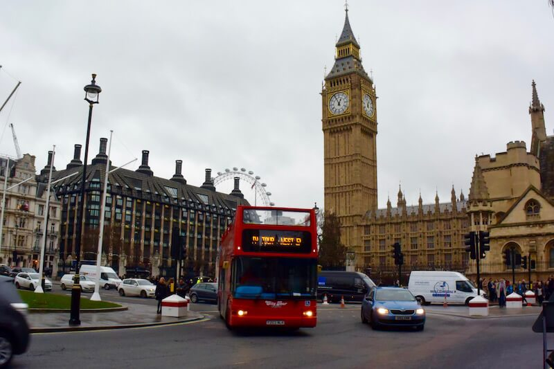 Family travel to London for Christmas via @DishOurTown