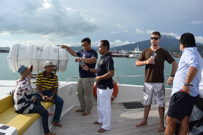 The Sea and Langkawi with kids via @DishOurTown