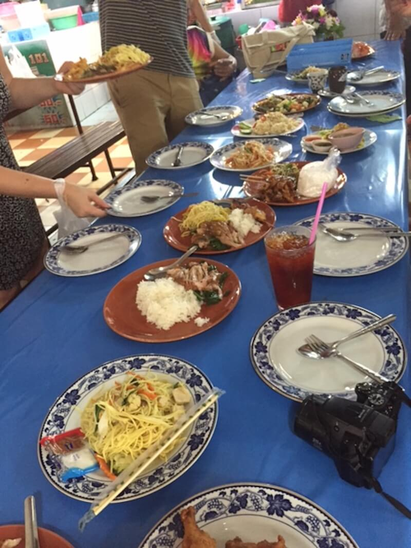 Food in Bangkok with Context Travel via @DishOurTown