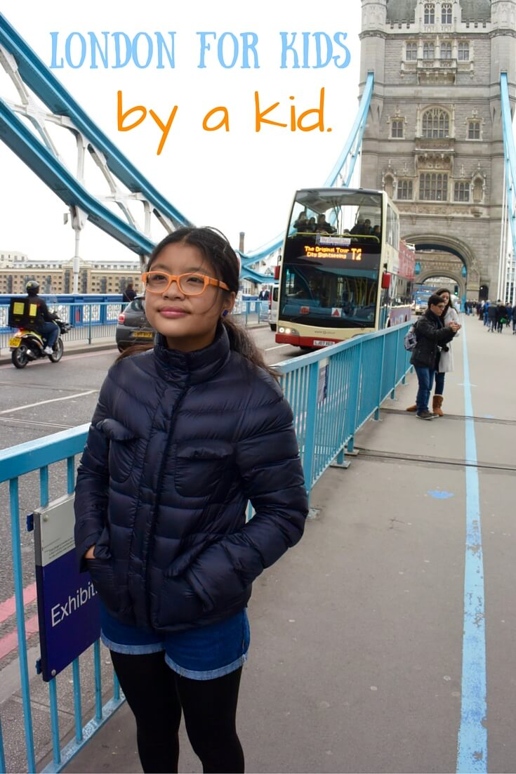 London for kids by a kid via @DishOurTown