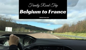Family Road Trip from Belgium To France