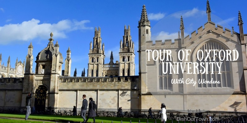 Best private #tour of #oxforduniversity with @citywonder via @DishOurTown