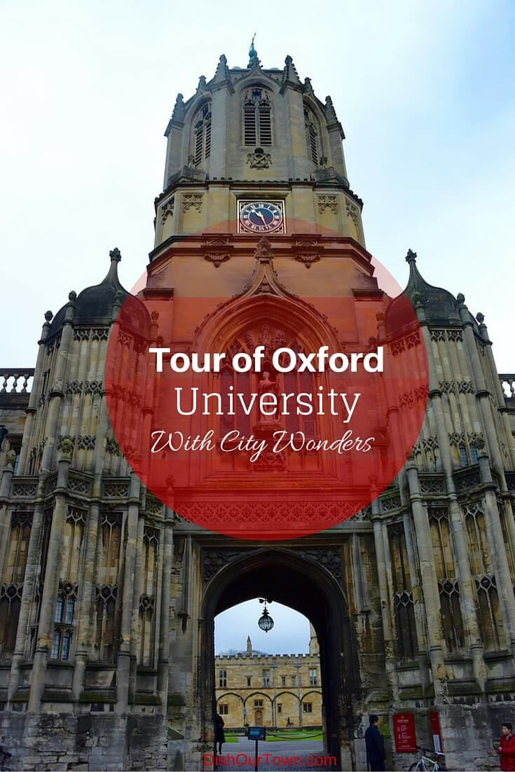 Best tour of #oxforduniversity with @citywonders via @DishOurTown