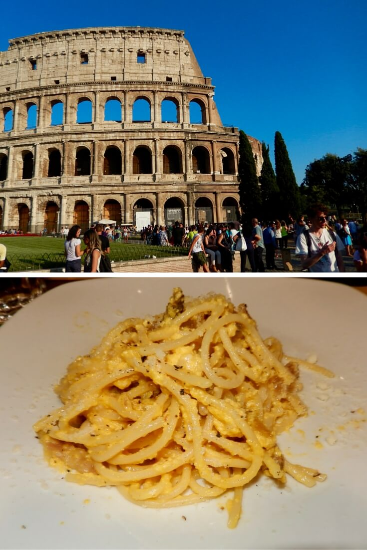 Best Spaghetti Alla Carbonara in Rome via @DishOurTown