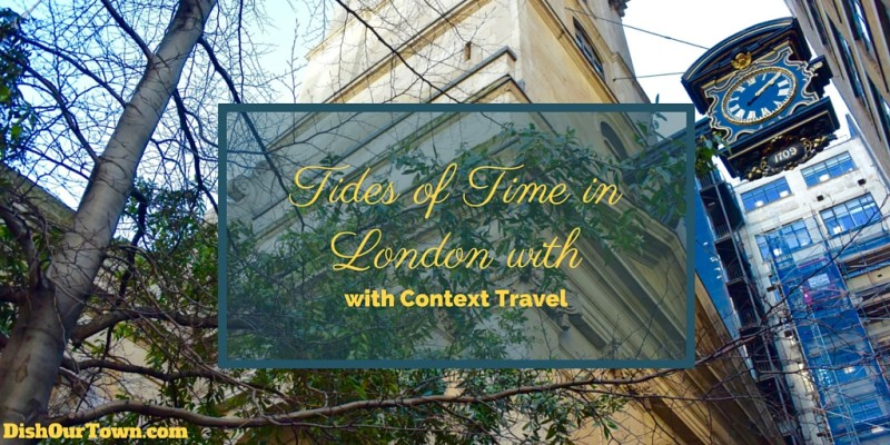 Tides of Time Tour with Context Travel via @DishOurTown