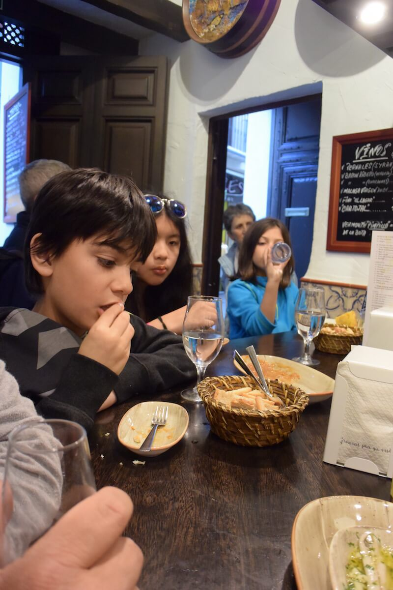 Family of food lovers search for boquerones fritos in Andalucia via @DishOurTown #familytravel #foodtravel