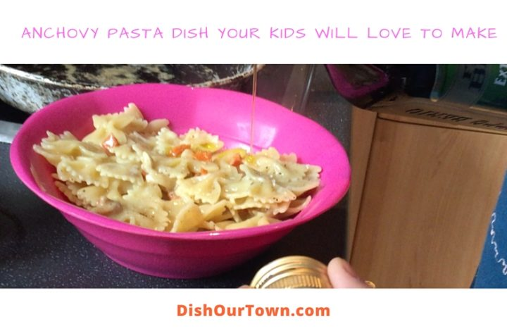 Anchovy Pasta Dish Your Kids Will Love To Make