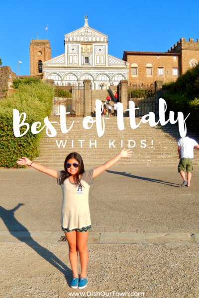 The best places to visit #Italy with kids via @dishourtown #familytravel
