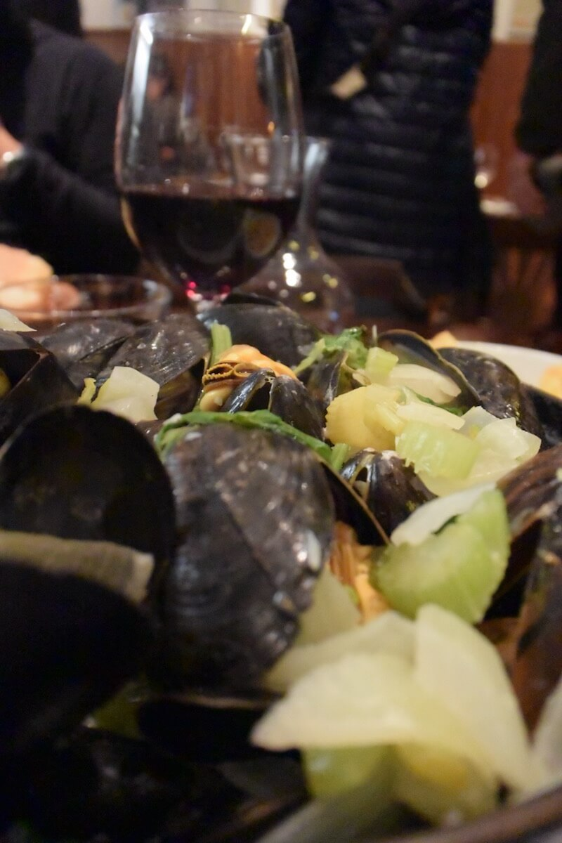 food brussels moules frites