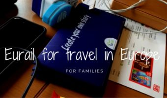 Eurail for family train travel in Europe with older kids