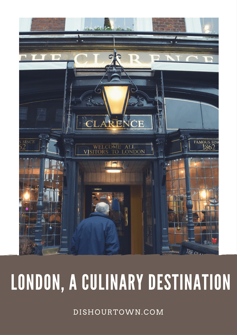 London is a culinary destination via @DishOurTown #food #travel