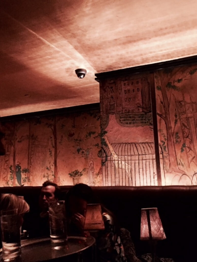 Bemelmans Bar, a place to have a drink for #Christmas in #NYC via @DishOurTown.com
