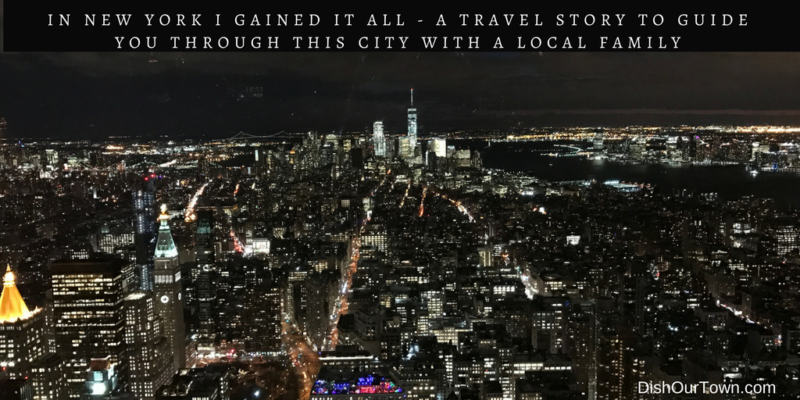 A Local Family's Guide to Visiting in #NYC via @DishOurTown #travelstory