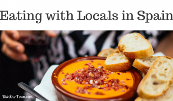 Eating in Barcelona and Madrid with Locals