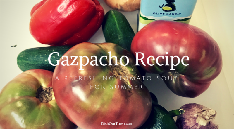 Gazpacho, An easy tomato soup recipe