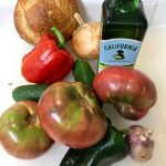 Gazpacho, An easy summer soup recipe via @dishourtown