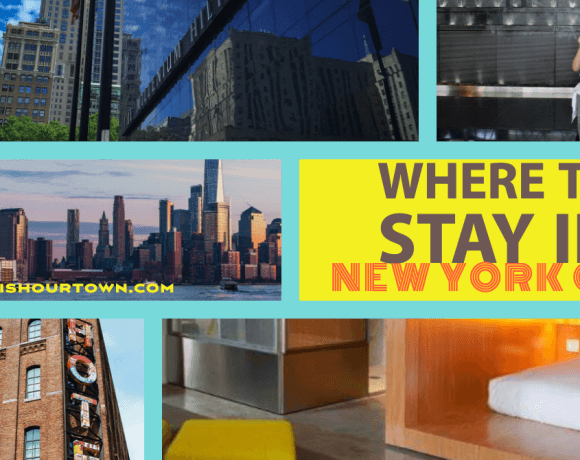 Where to Stay In NYC, according to frequent travelers via @DishOurTown #hotelsinnyc #luxuryhotelsnyc #secrethotelsnyc #boutiquehotelsnyc #familyhotelsnyc