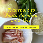 Simple Okra Pileau Recipe