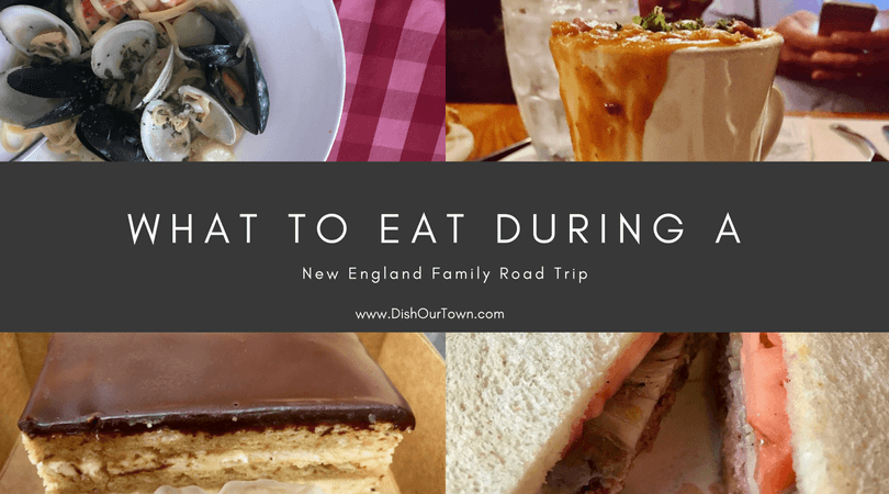 Best things to eat on a #NewEngland #RoadTrip with @dishourtown #food