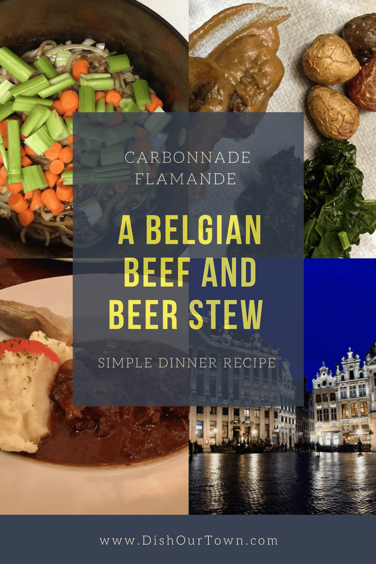 A travel story with a recipe for #CarbonnadeFlamande a Flemish Beef and Ale #Stew we ate in #Brussels via @dishourtown