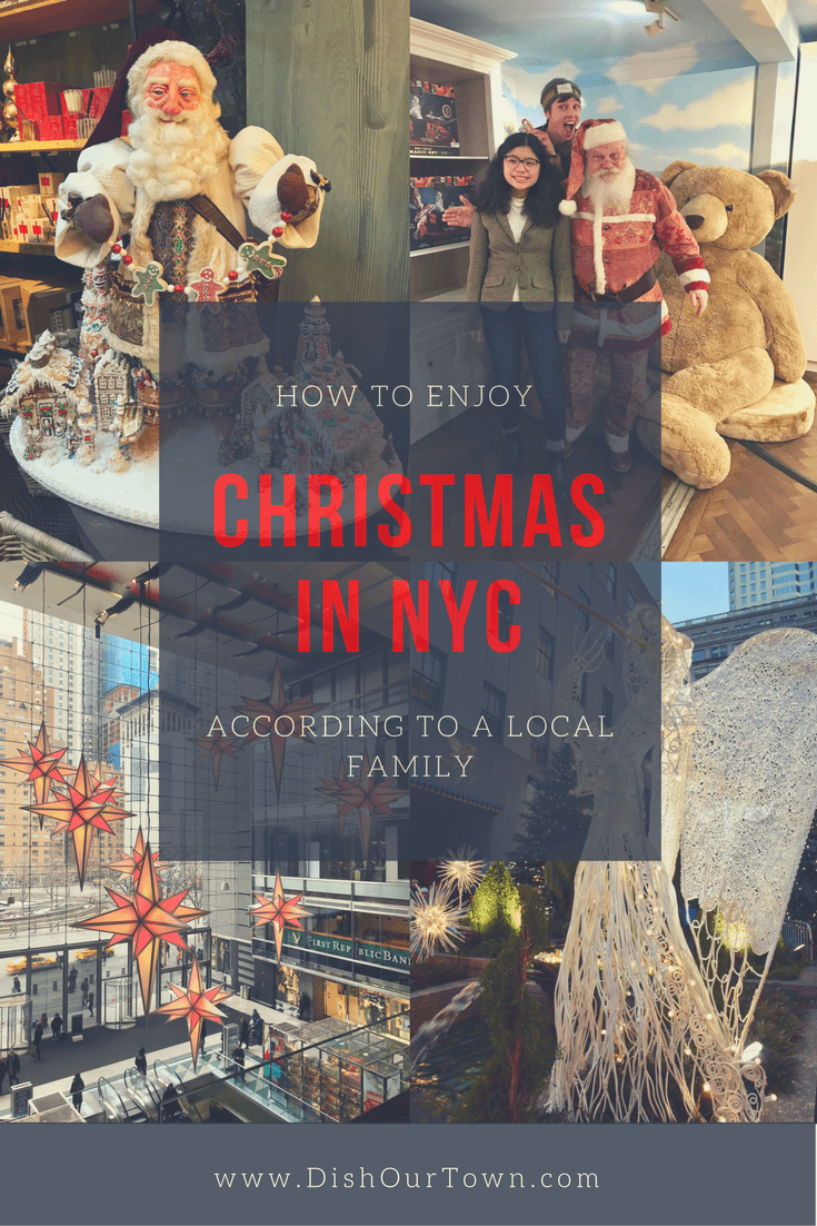 How to enjoy #Christmas in NYC via @dishourtown #familytravel #seeyourcity