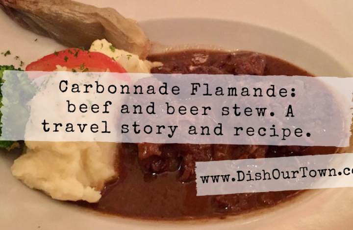 Carbonnade Flamande, a Flemish Beef and Ale Stew Recipe