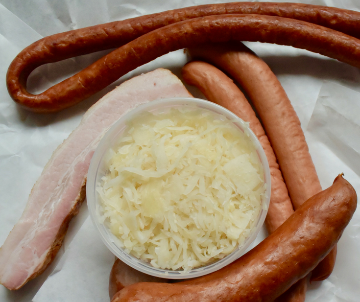 Choucroute Garnie, a #recipe and #travelstory in #Strasbourg via @dishourtown