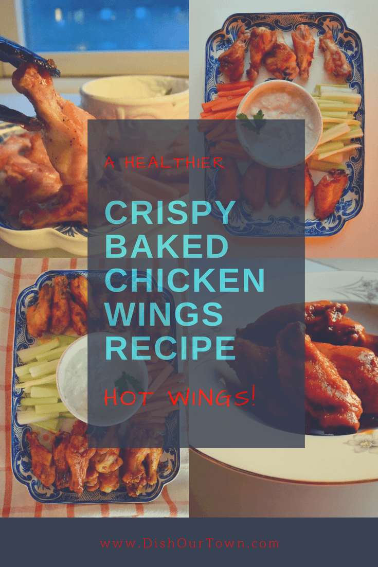 Crispy Baked Chicken Wings Recipe @dishourtown #chickenwings