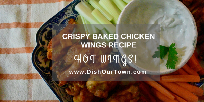 Easy Crispy Baked Chicken Wings Recipe