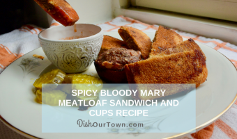 Spicy Bloody Mary Meatloaf Sandwich Recipe