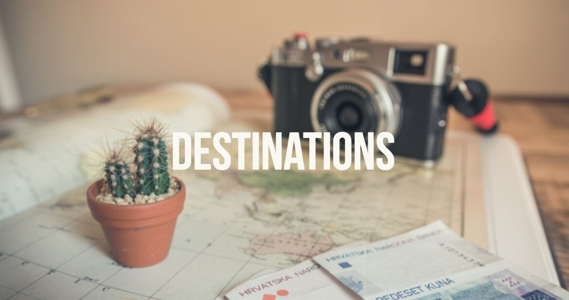 Travel Destinations with @dishourtown