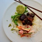 Vermicelli Noodle Salad with Pork