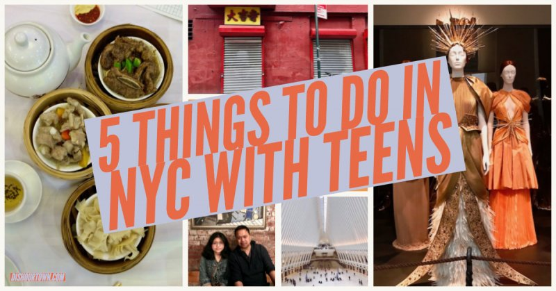 5 Things to Do in NYC with Teens from a Local Family