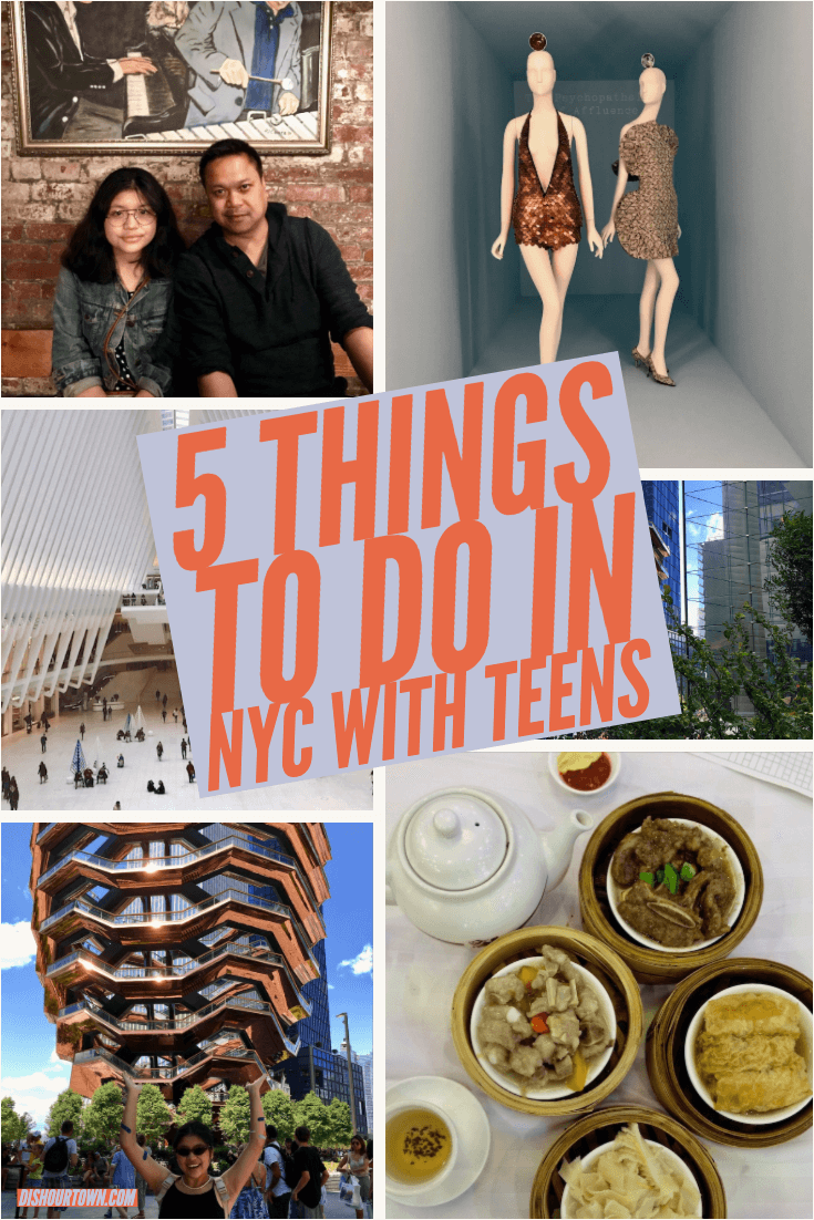 5 things to do in NYC with teens. Family Travel in NYC. Fun things to do in NYC with teens. #familytravel #NYC #travel #teentravel #VIsitNYC #SeeYourCity