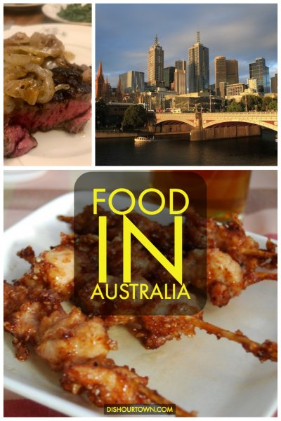 Australia Food Guide via @dishourtown #australianfood #whattoeat #travel