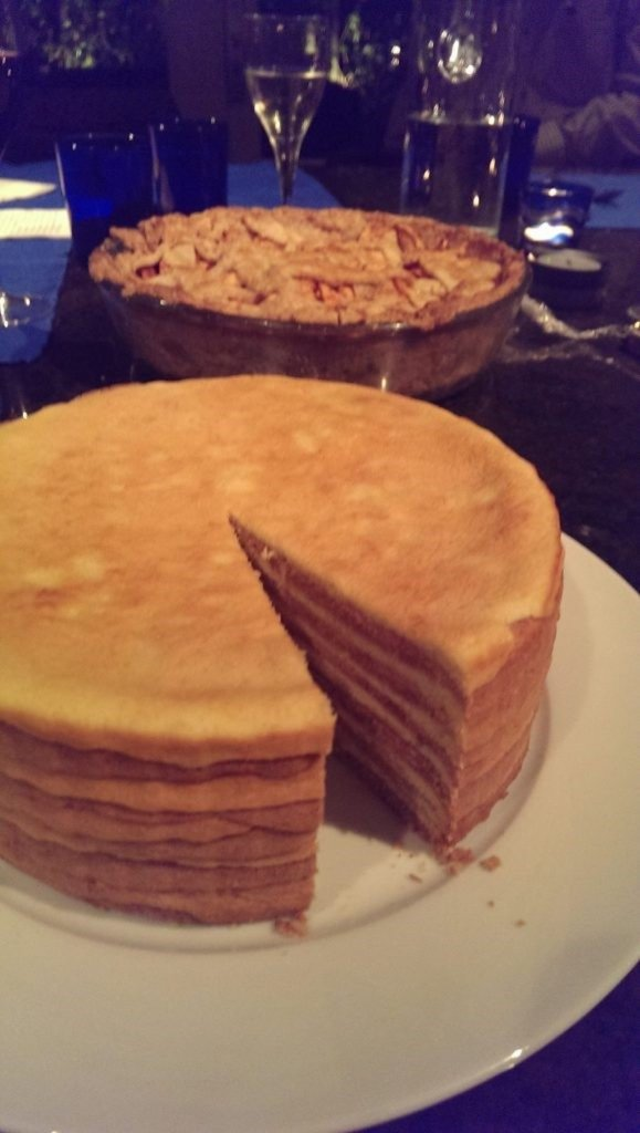 Spekkoek, A Dutch layer cake that is broiled and not baked. 10 Layer Dutch Cake. #spekkoek #dessert #layercake