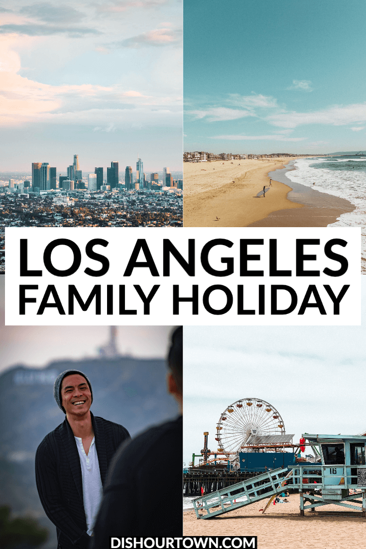 What to do in Los Angeles with teens via @dishourtown @cheapoair